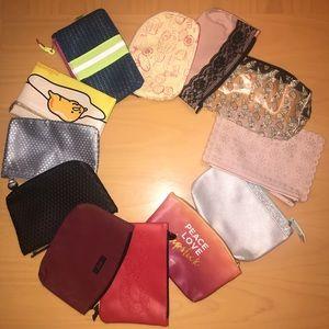 Handbags - 12 not used Ipsy bags